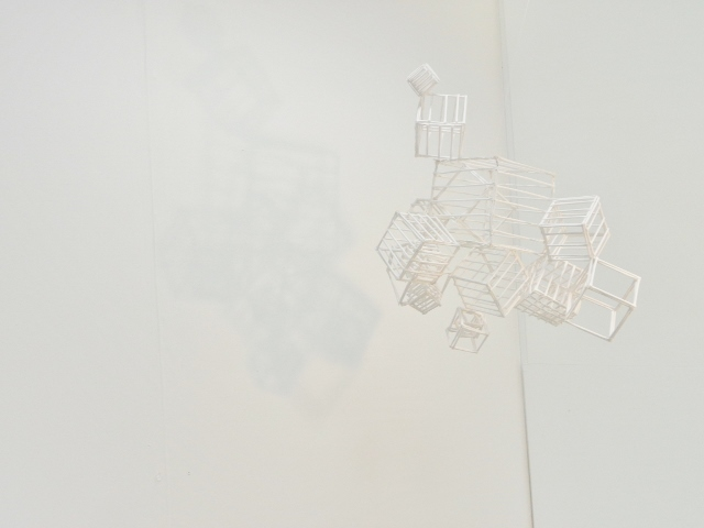 Hanging installation - subtle shadows (2)