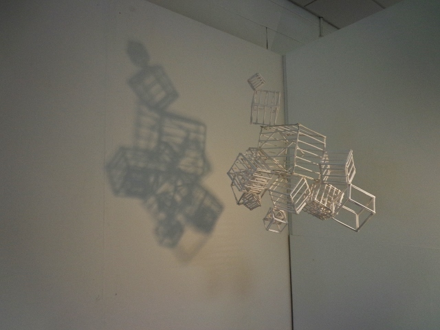 Hanging cages installation - shadows (3)