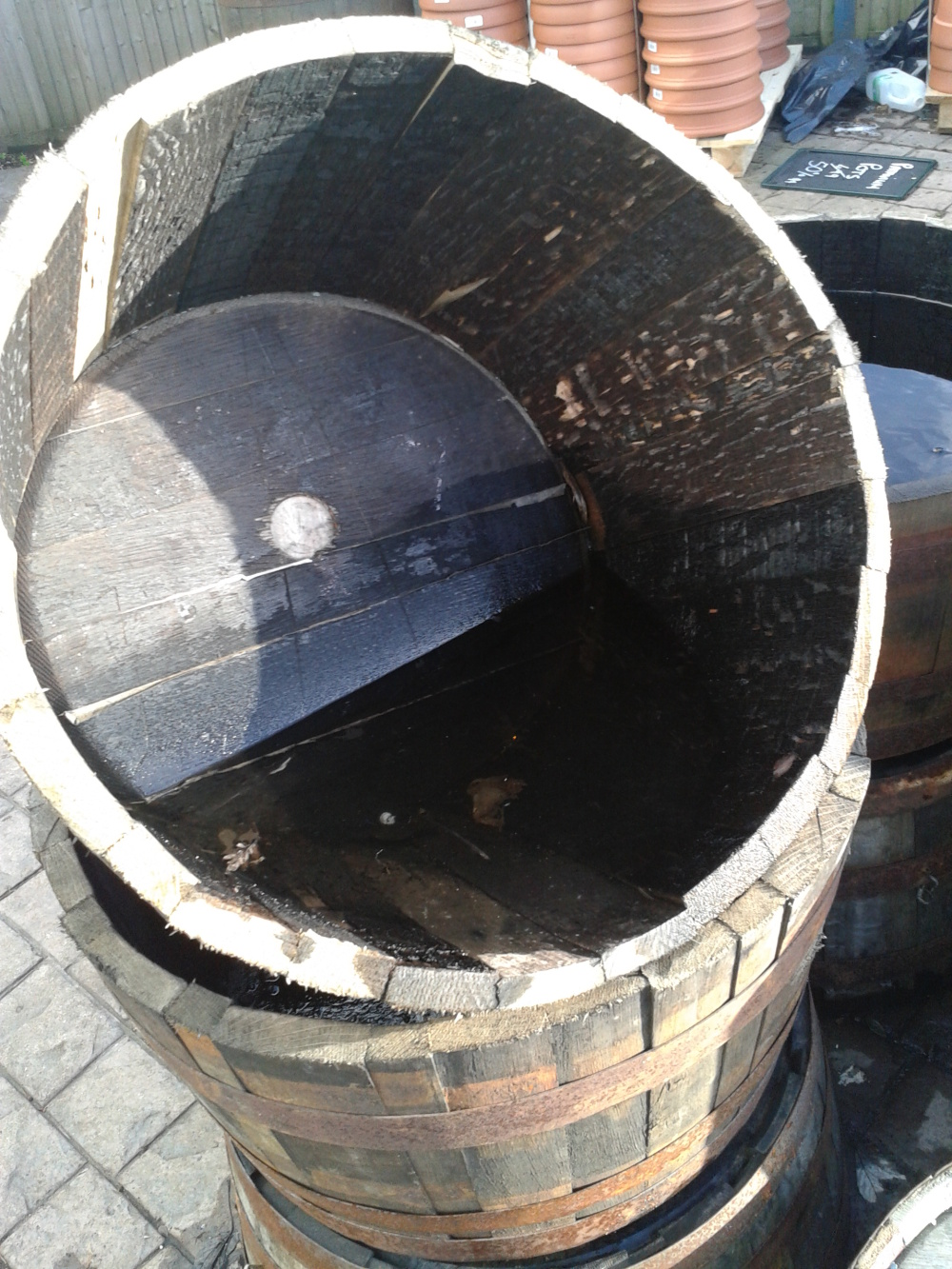 A Barrel of Space and Water