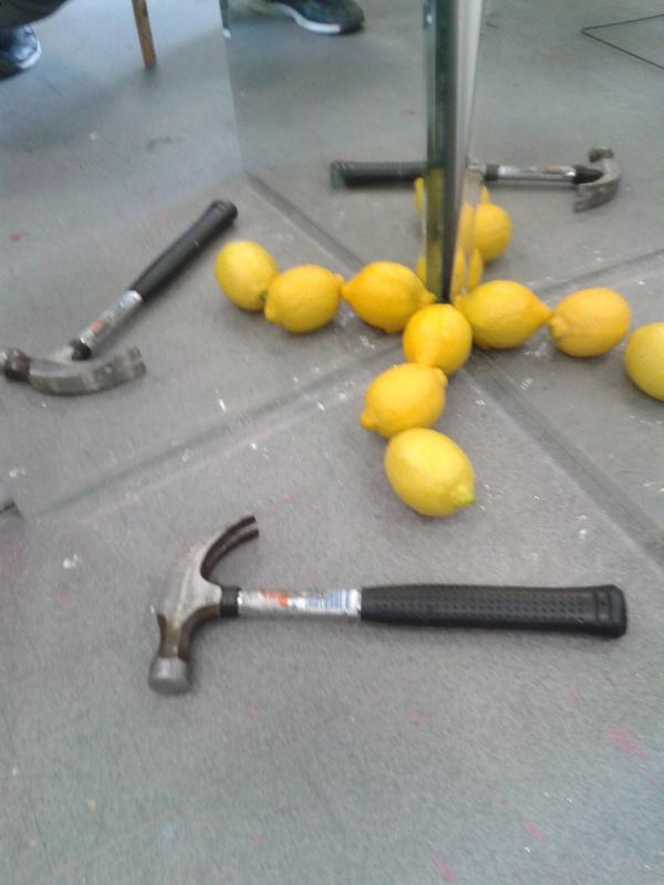 Mirrors and lemons: Staring a Hammer.