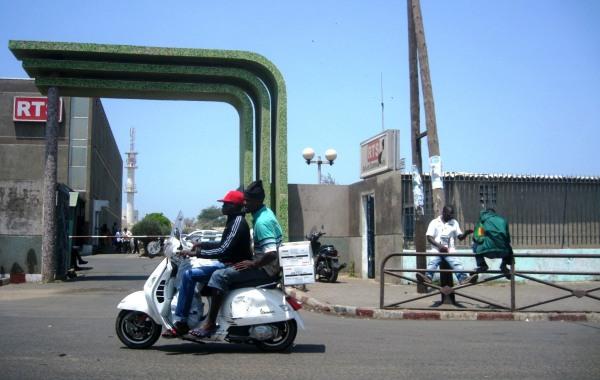 Dakar en Vespa
