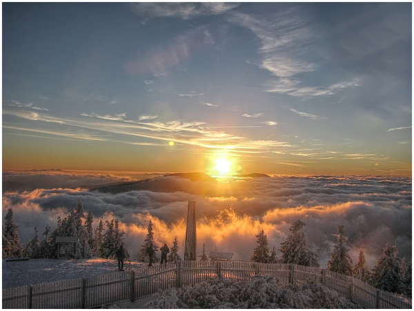 above the clouds II