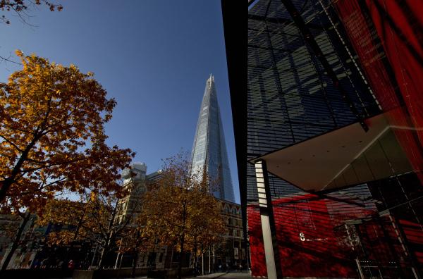 London,river,architecture,building, shard