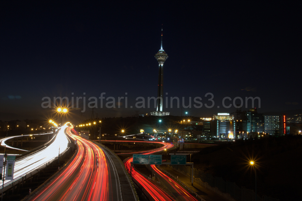 Milad Tower in the night2