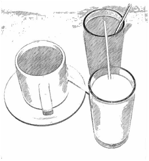 Cafe Image Enhanced