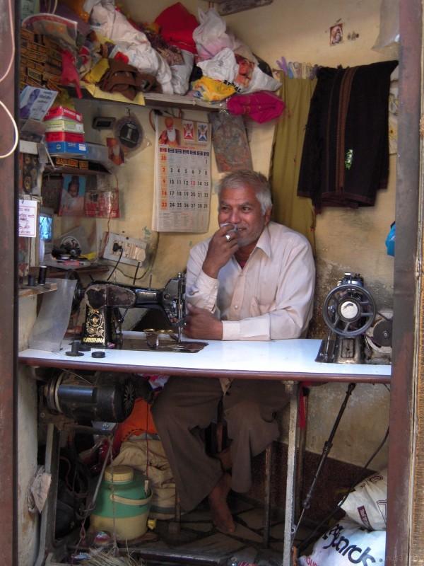 Atelier de haute couture (Jaisalmer - Rajasthan)