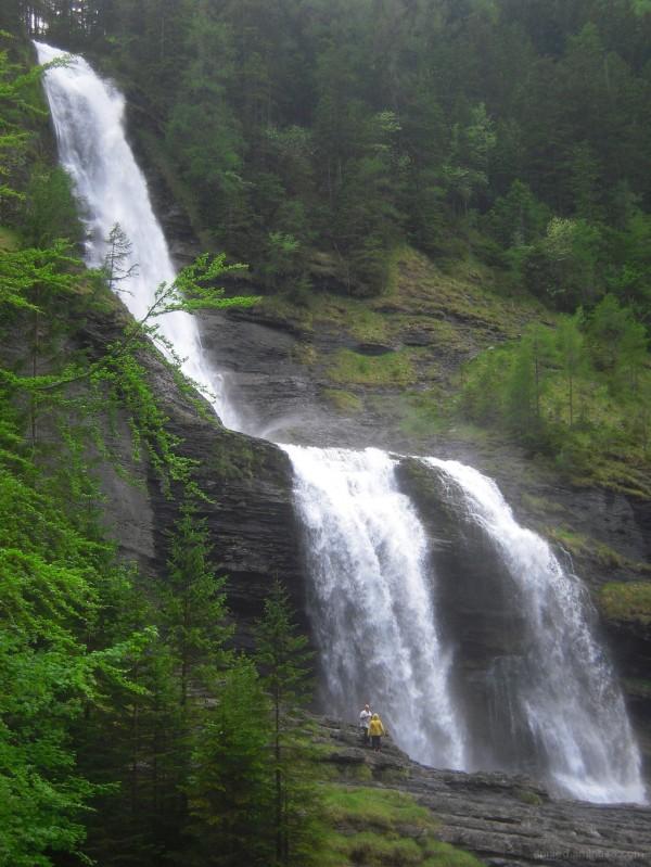 Cascade du Rouget (Haute Savoie)