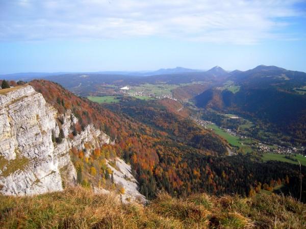 Sur la crête du Mont d'Or (Franche-Comté)