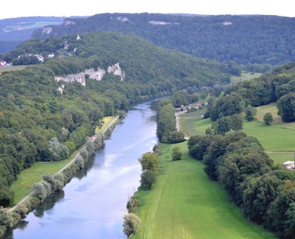 Le Doubs près de Baume les Dames (Franche-Comté)