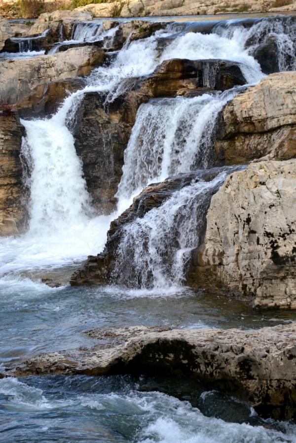 Cascades du Sautadet à La Roque sur Cèze (Gard) 2
