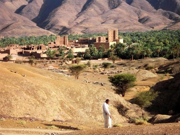 Dans la Vallée du Drâa (Maroc)