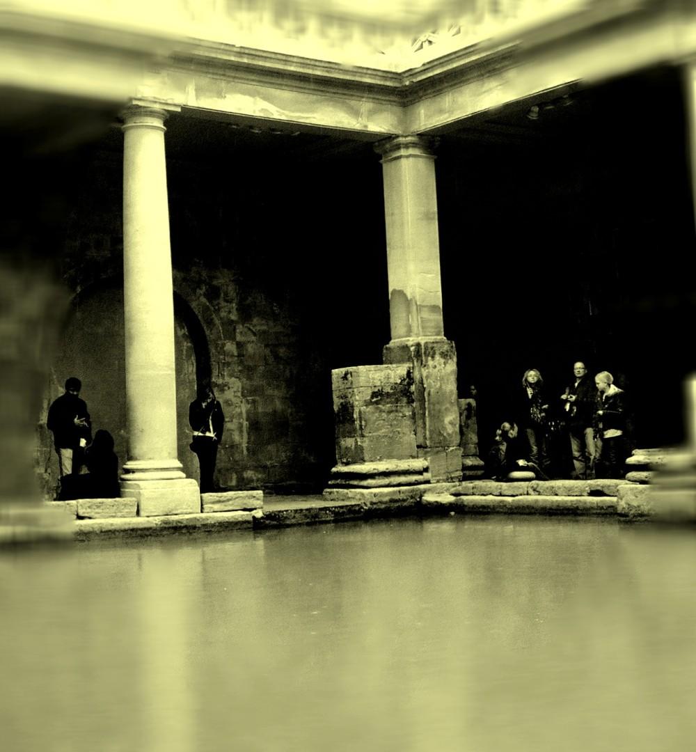 bath, the roman baths
