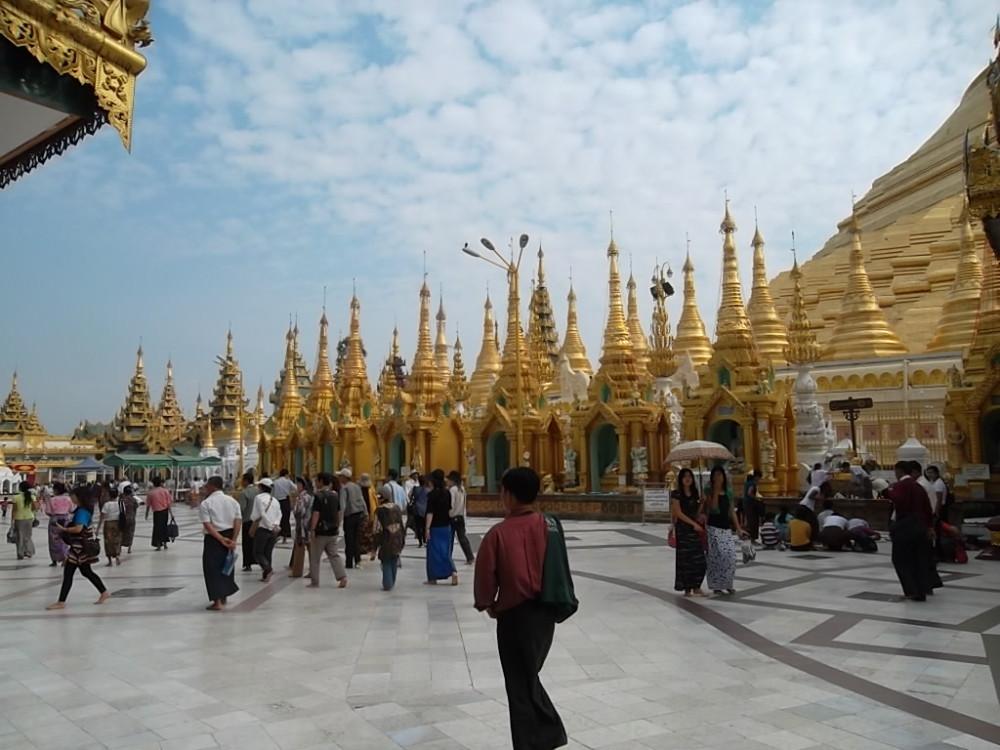 Shwedagon Pagoda of Burma