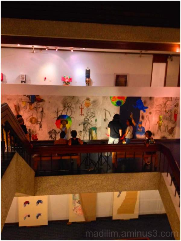 exhibit opening