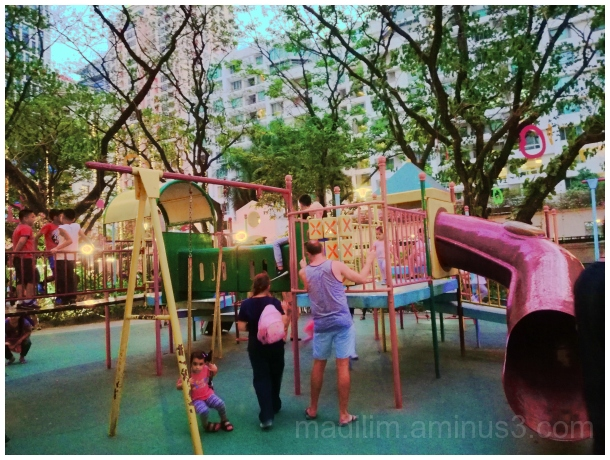 pinks at the playground