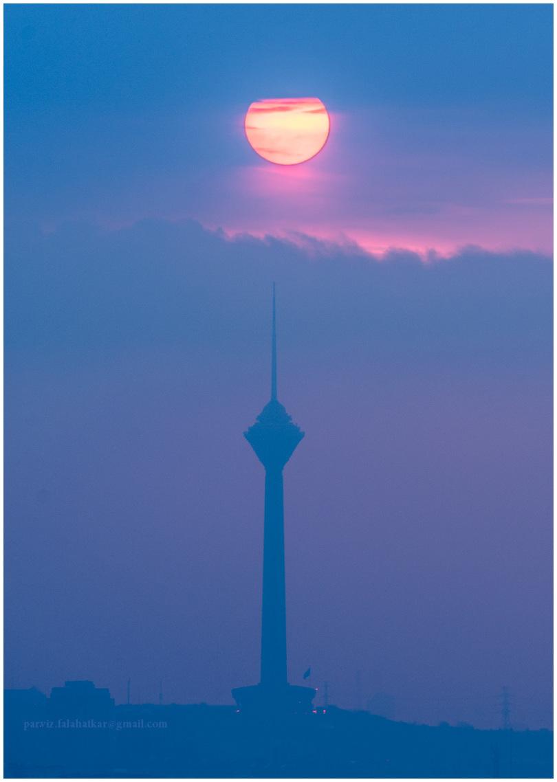 #tehran #milad_tower #parvizfalahatkar #