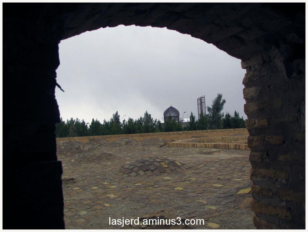 کاروان سرای روستای لاسجرد