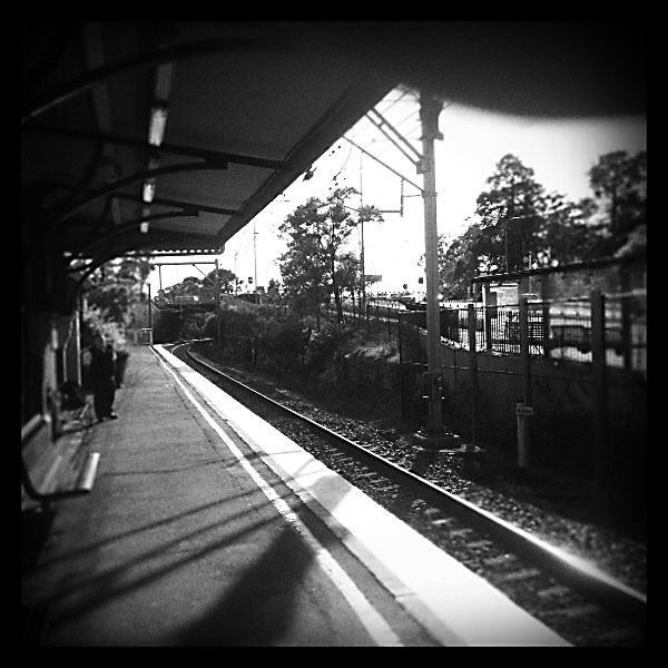 Lawson to Woodford by train 4