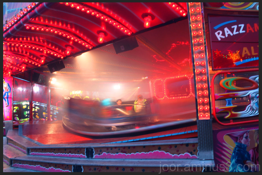 Newcastle Hoppings, waltzer