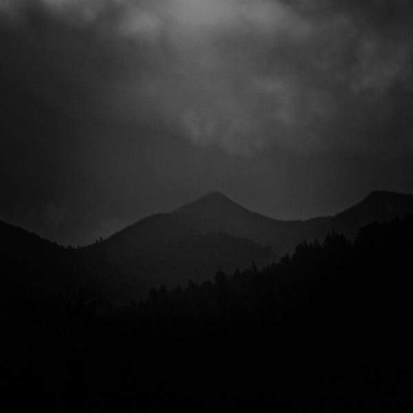 Dark moody landscape.