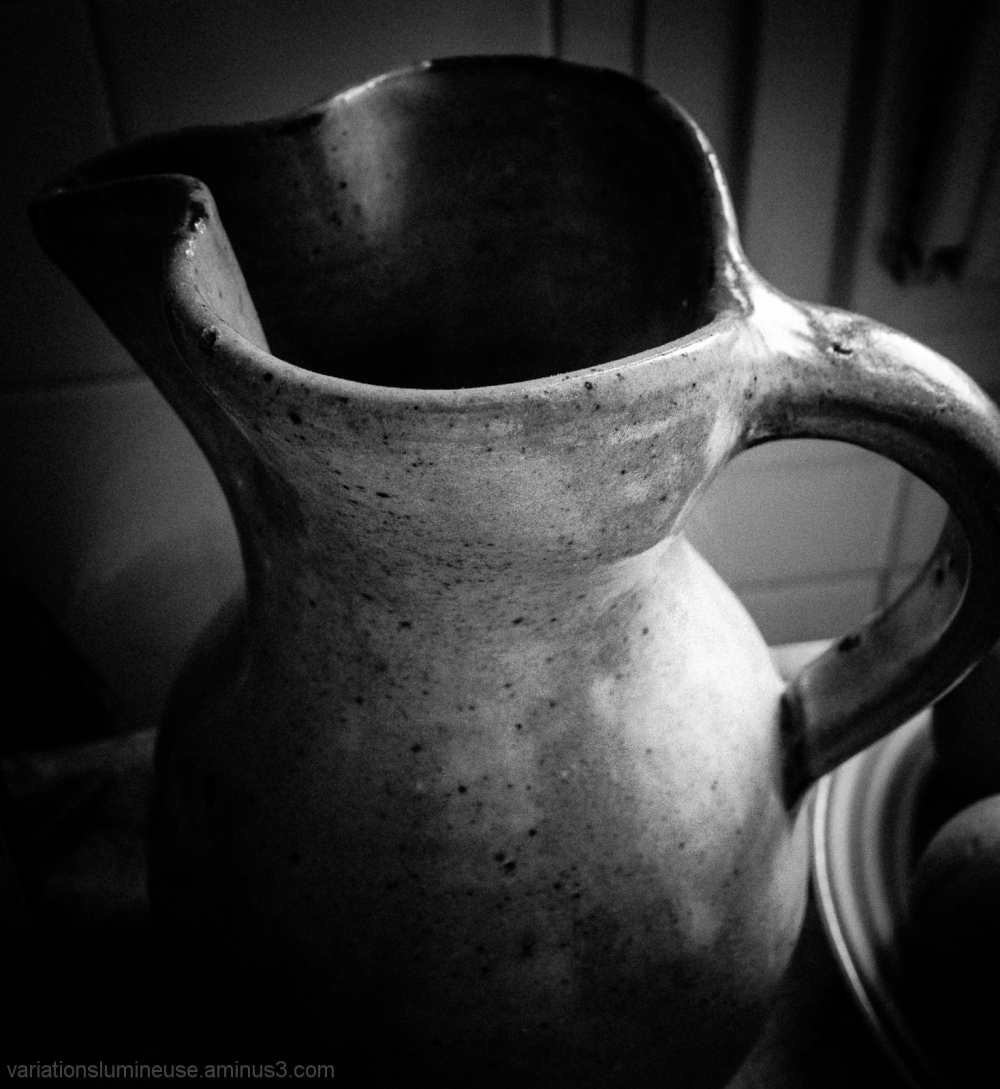 An old style french pitcher.