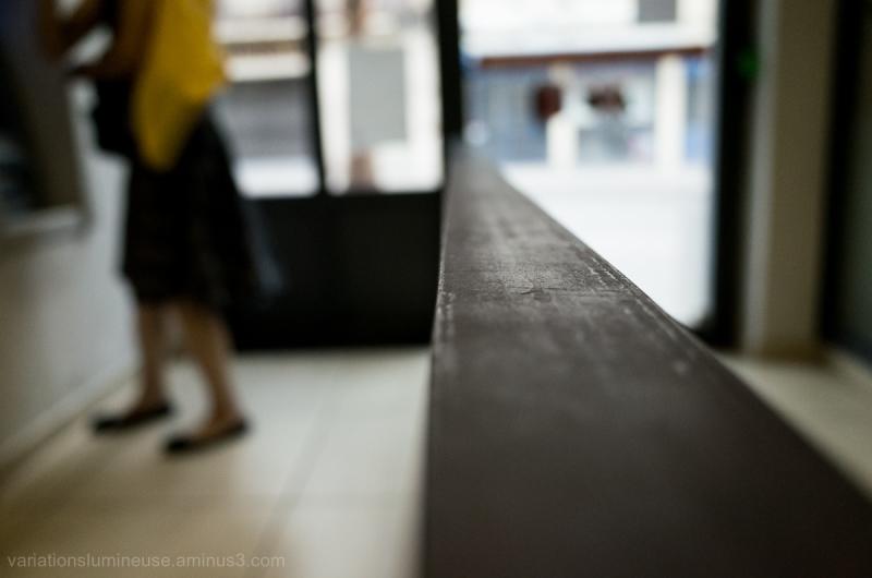 Woman blur.