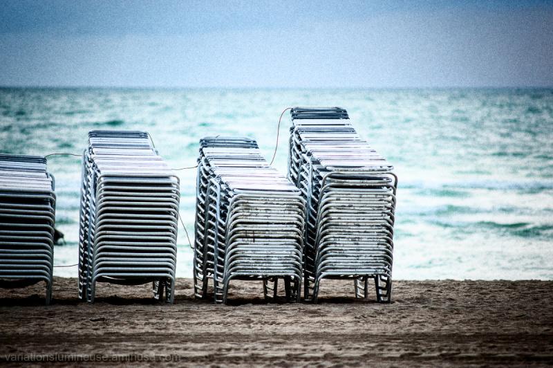 Seascape. Miami Beach, Florida.