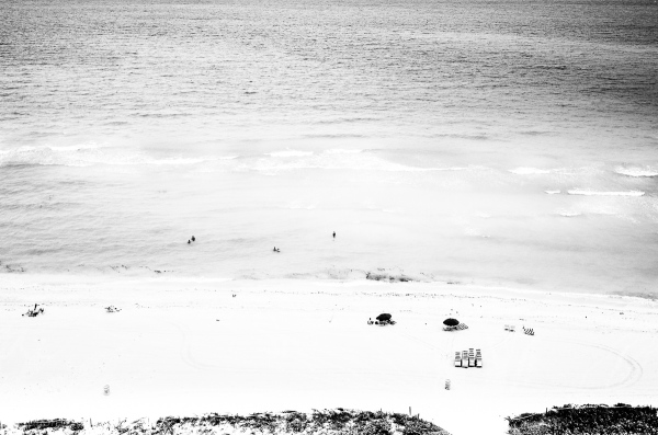 People in the water Miami Beach, Florida.