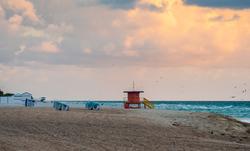 Miami Beach around 58th street and Collins Avenue.