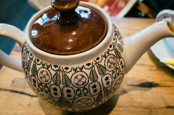 Beautiful teapot.