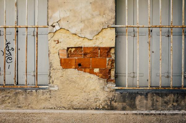 Old building facade.