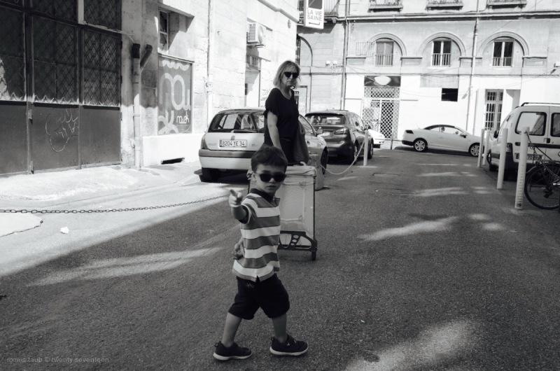 Sunglasses. Black and white.