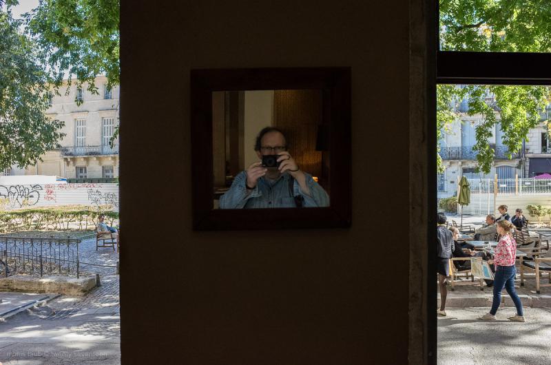 Self portrait at Latitude.