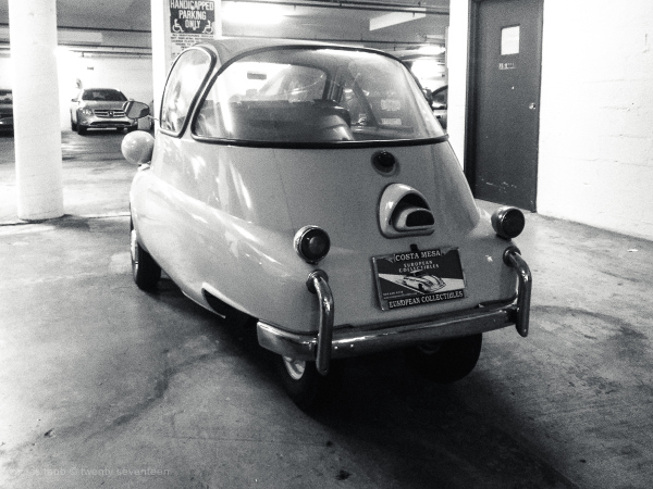 isetta 300 by bmw.