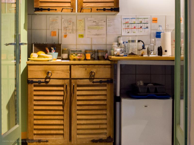 Kitchen photo a little blurred.