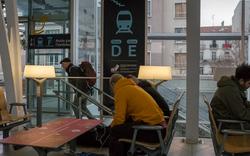 Gare St. Roch in Montpellier, France