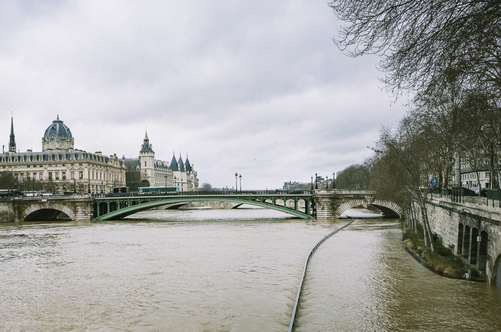 Too much water in Paris.