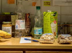 Part of my kitchen. With notes.