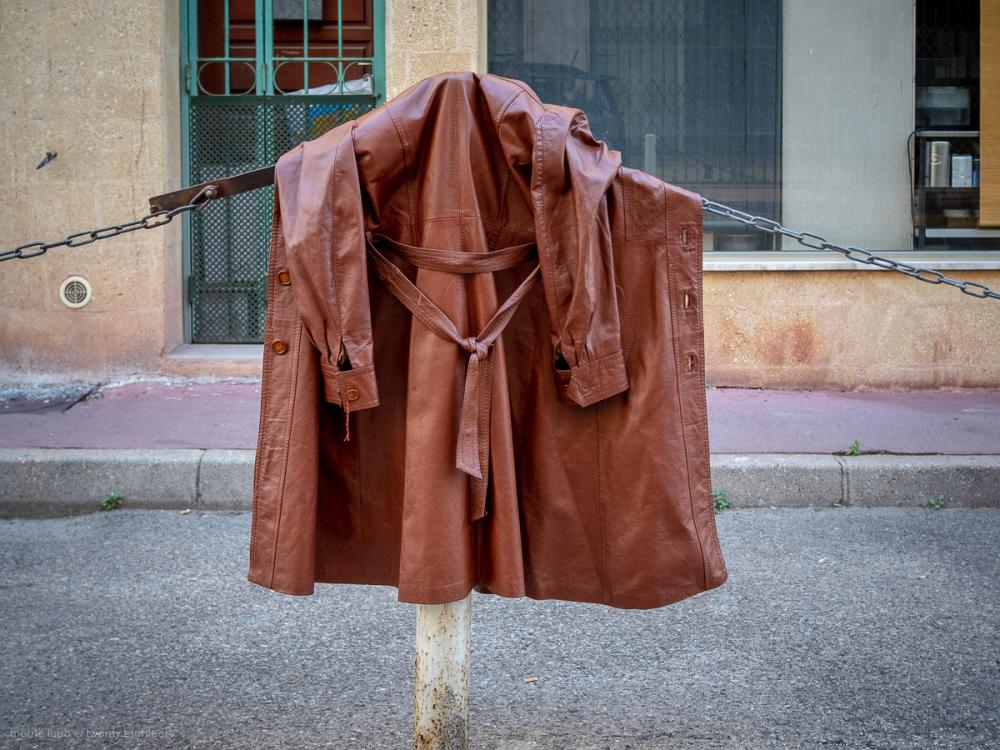 Someone's coat.