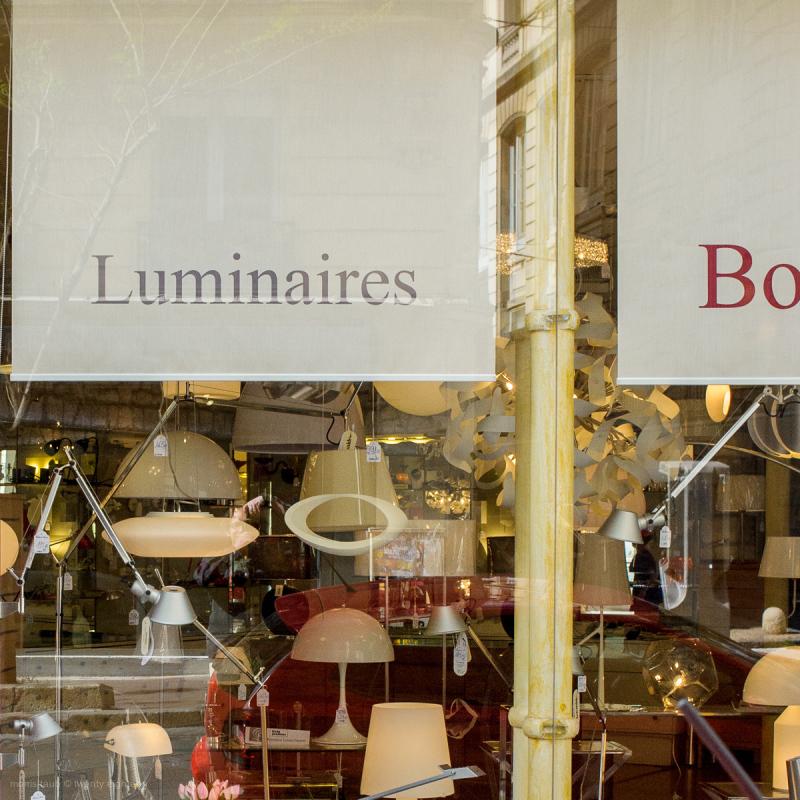 Lighting store.