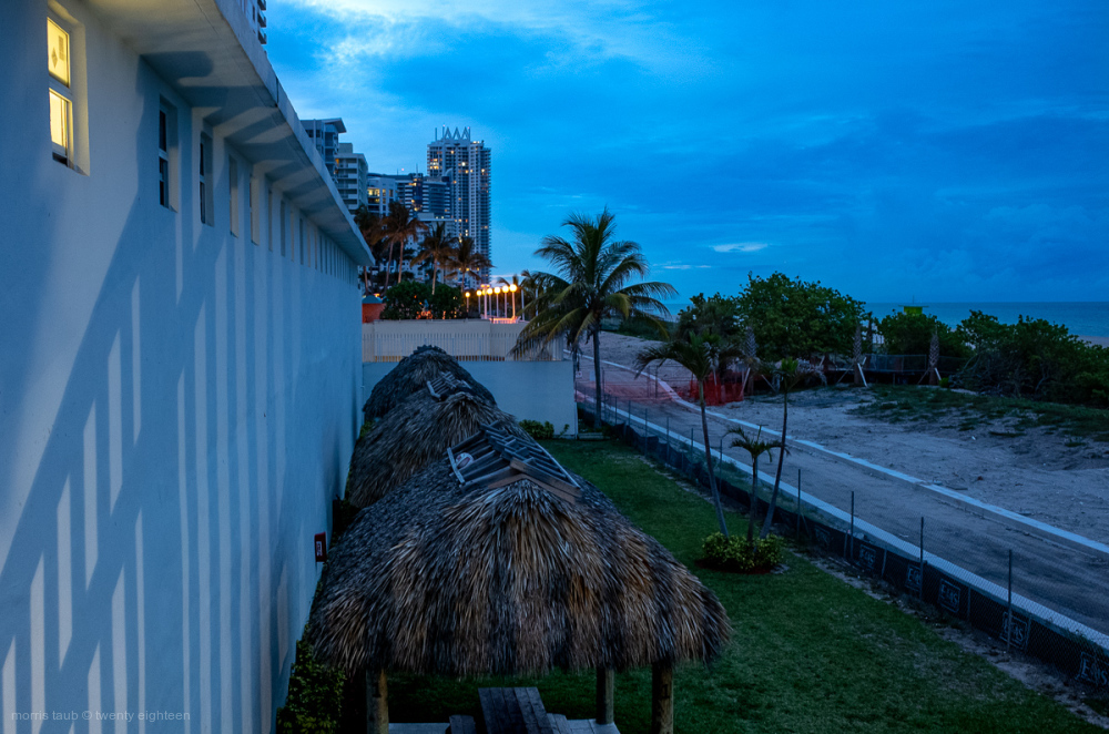 Miami Beach looking north from 56th street.