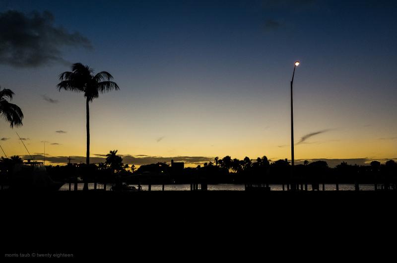 Sunset Miami Beach.