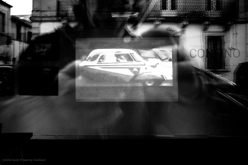 Video shot through window.