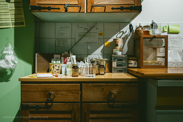 One day, My kitchen counter.