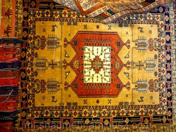 نقش ایرانی - فرش ایرانی