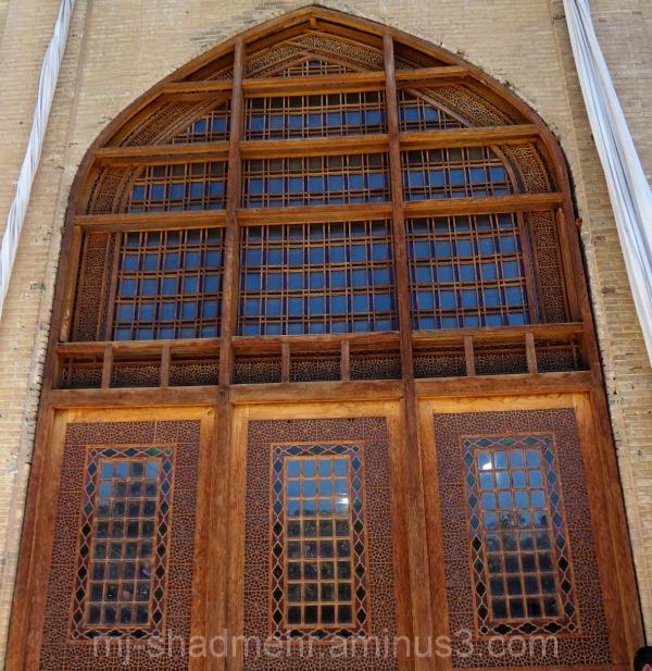 پنجره - ارگ کریمخانی شیراز