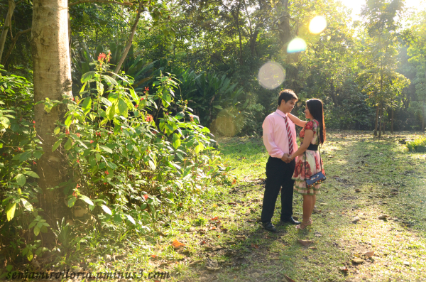 My first prenup photoshoot.