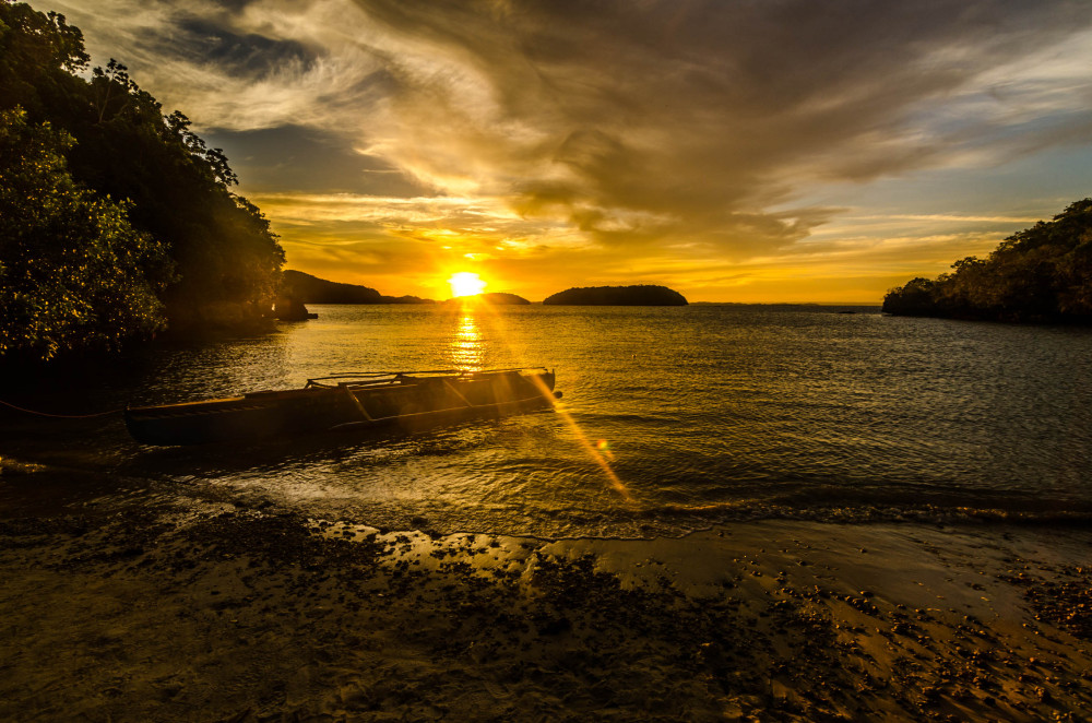 Hundred Islands Golden Hour Alaminos Pangasinan PH