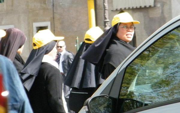 Trendy nuns