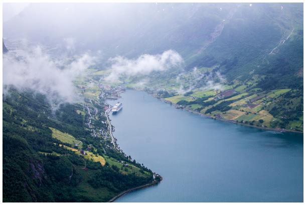 Loen Mountain, Norway
